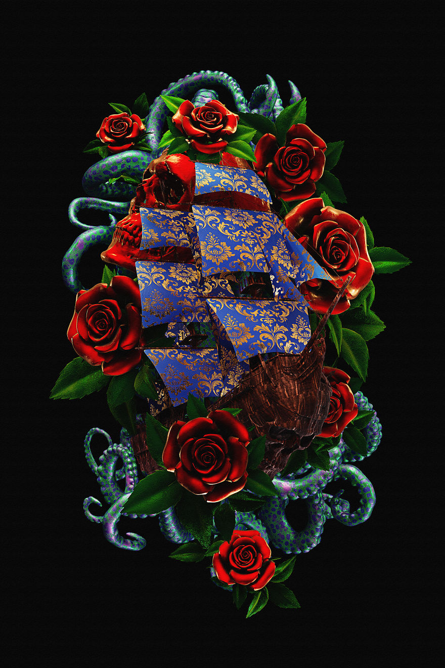 Billelis_Traditional_tattoo_3D_illustration_series_art5-5a294ee37954f__880