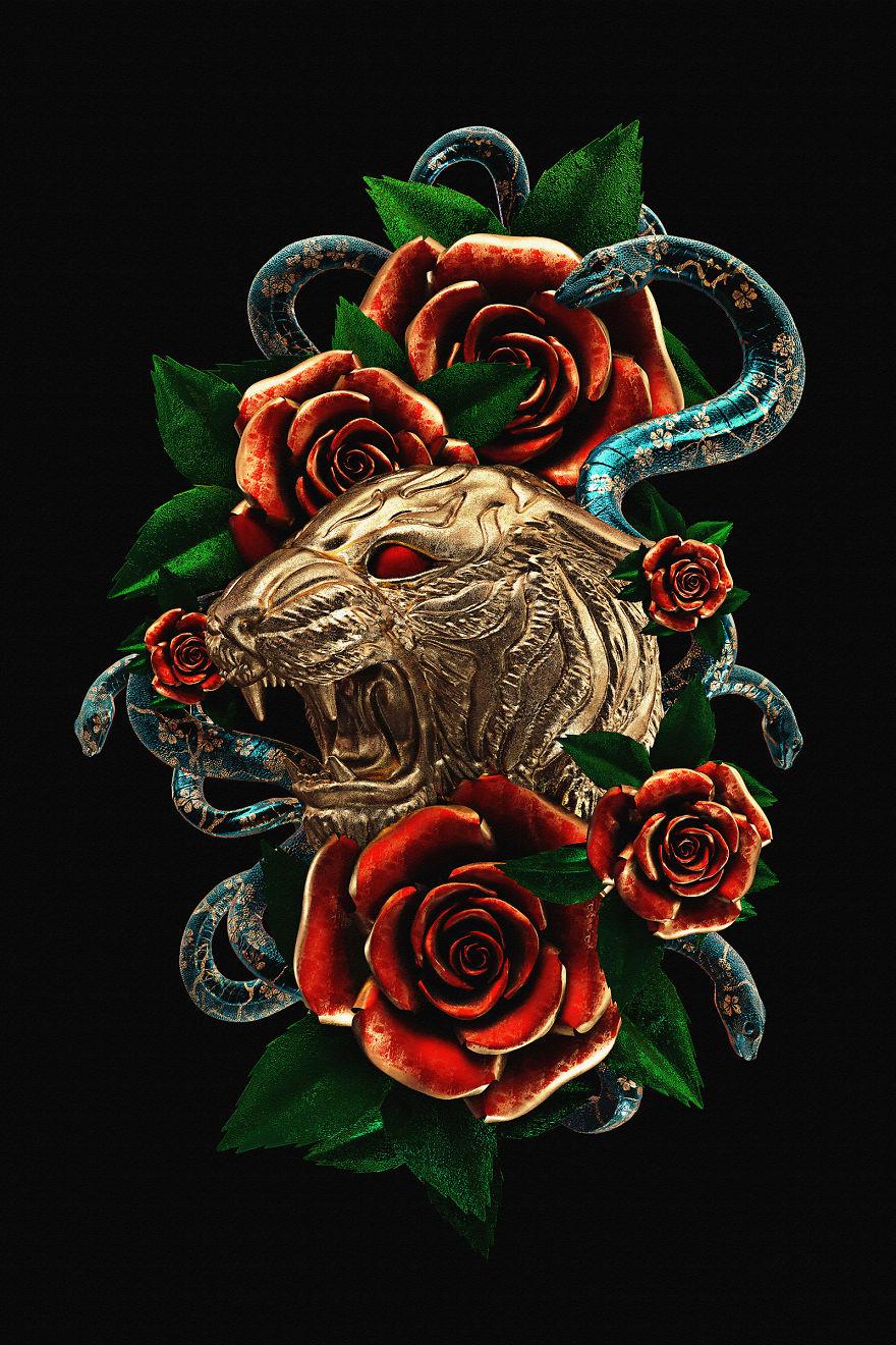Billelis_Traditional_tattoo_3D_illustration_series_art8-5a294efa850dc__880