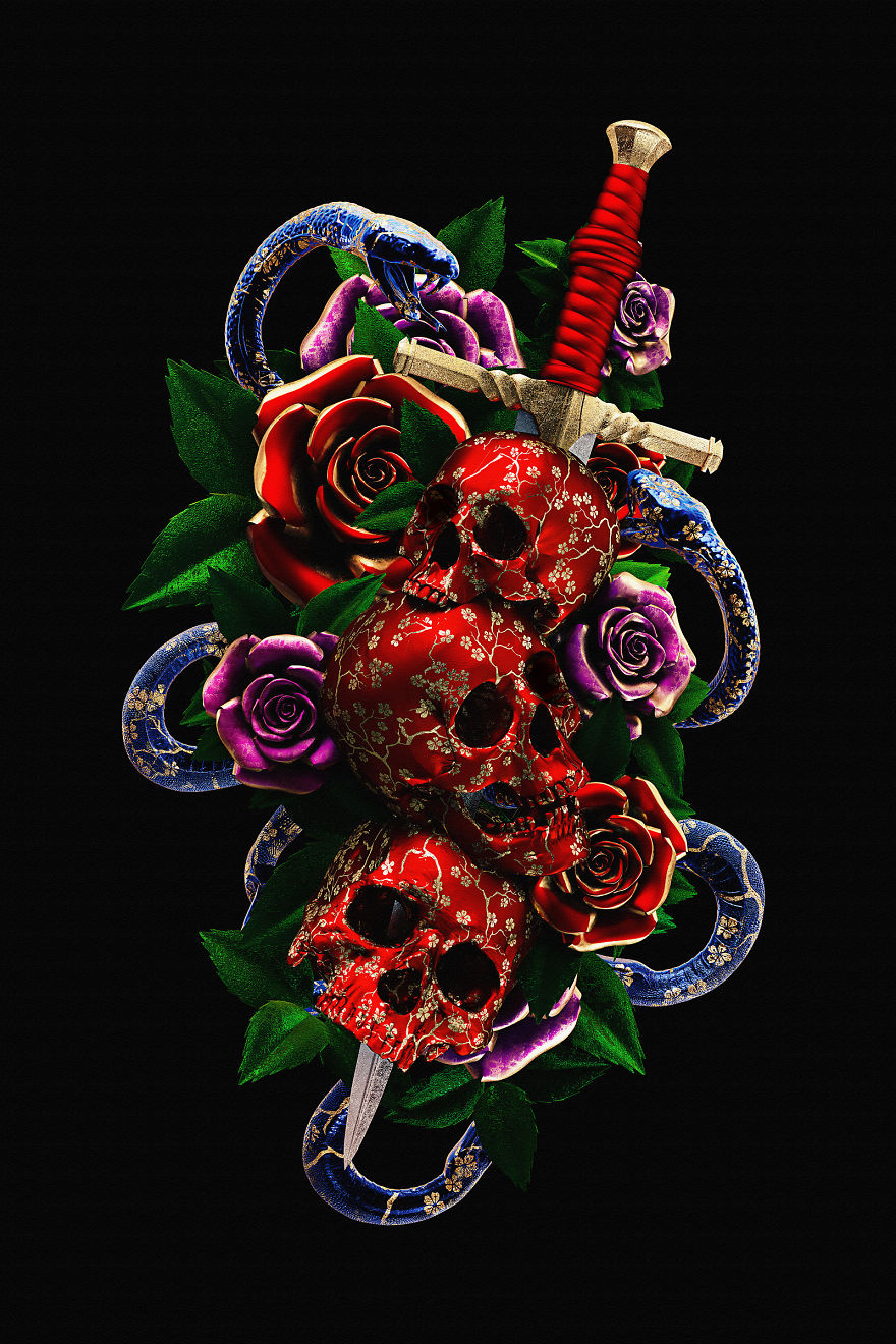 Billelis_Traditional_tattoo_3D_illustration_series_art9-5a294f020d084__880