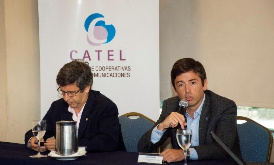 La Cámara de Cooperativas de Telecomunicaciones (CATEL) presentó su su servicio de telefonía móvil.