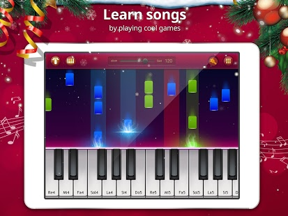 Christmas Piano Music Games