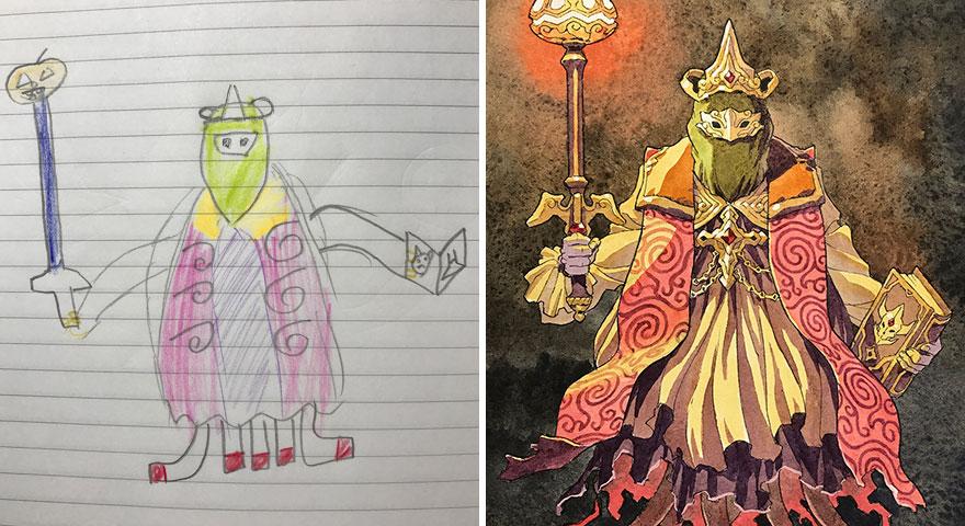 dad-kids-drawings-thomas-romain-2-5a364440a4f0f__880
