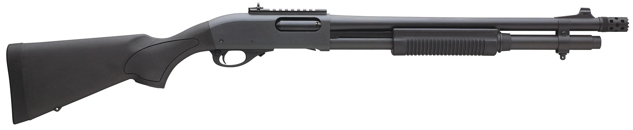 Escopeta Remington 870.