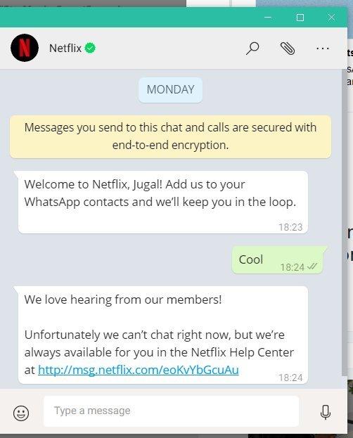 Netflix-y-WhatsApp