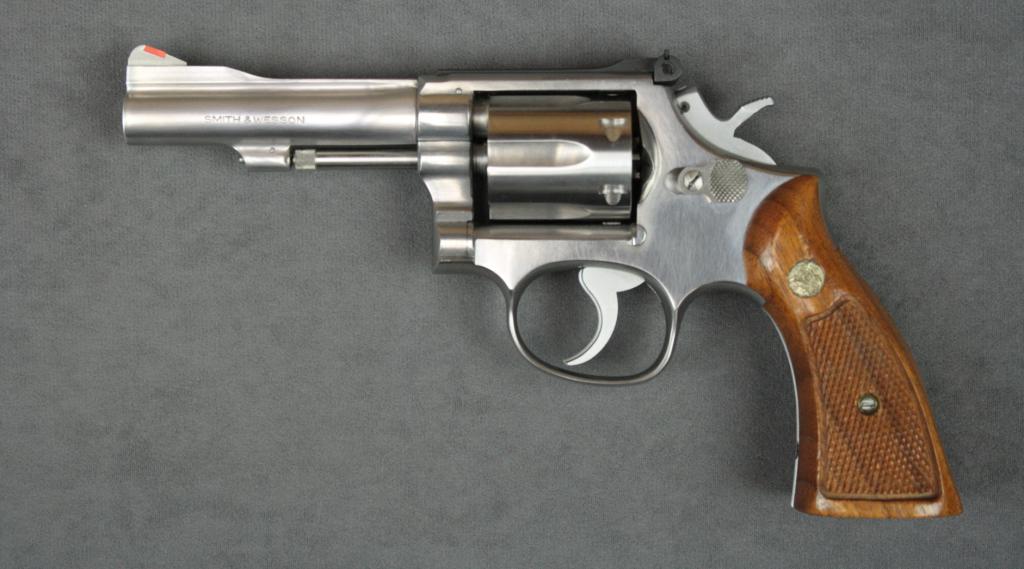 Revolver 38 Smith & Wesson Special.
