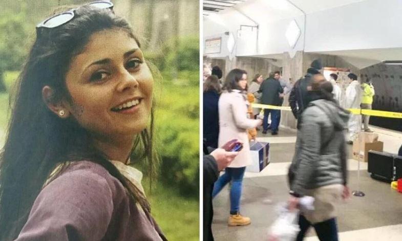 Alina Ciucu murió aplastada por el subte, tras ser empujada a las vías por una mujer.