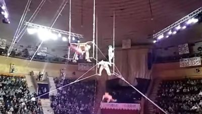 acrobata caida