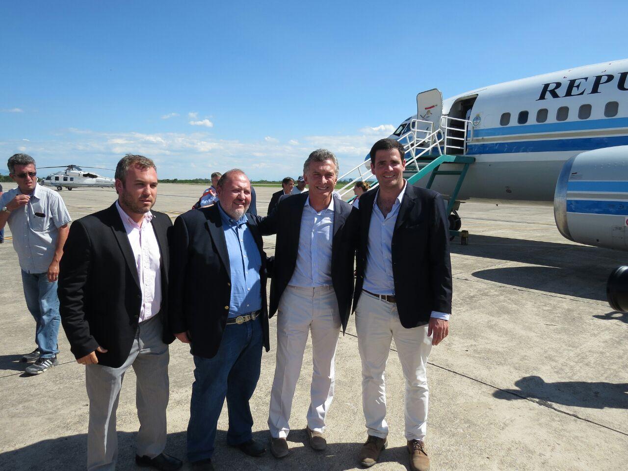 Carlos Carillo, Gerente de la ANSES Jujuy y el coordinador del Plan Belgrano en Jujuy, Guillermo Martín Berardi