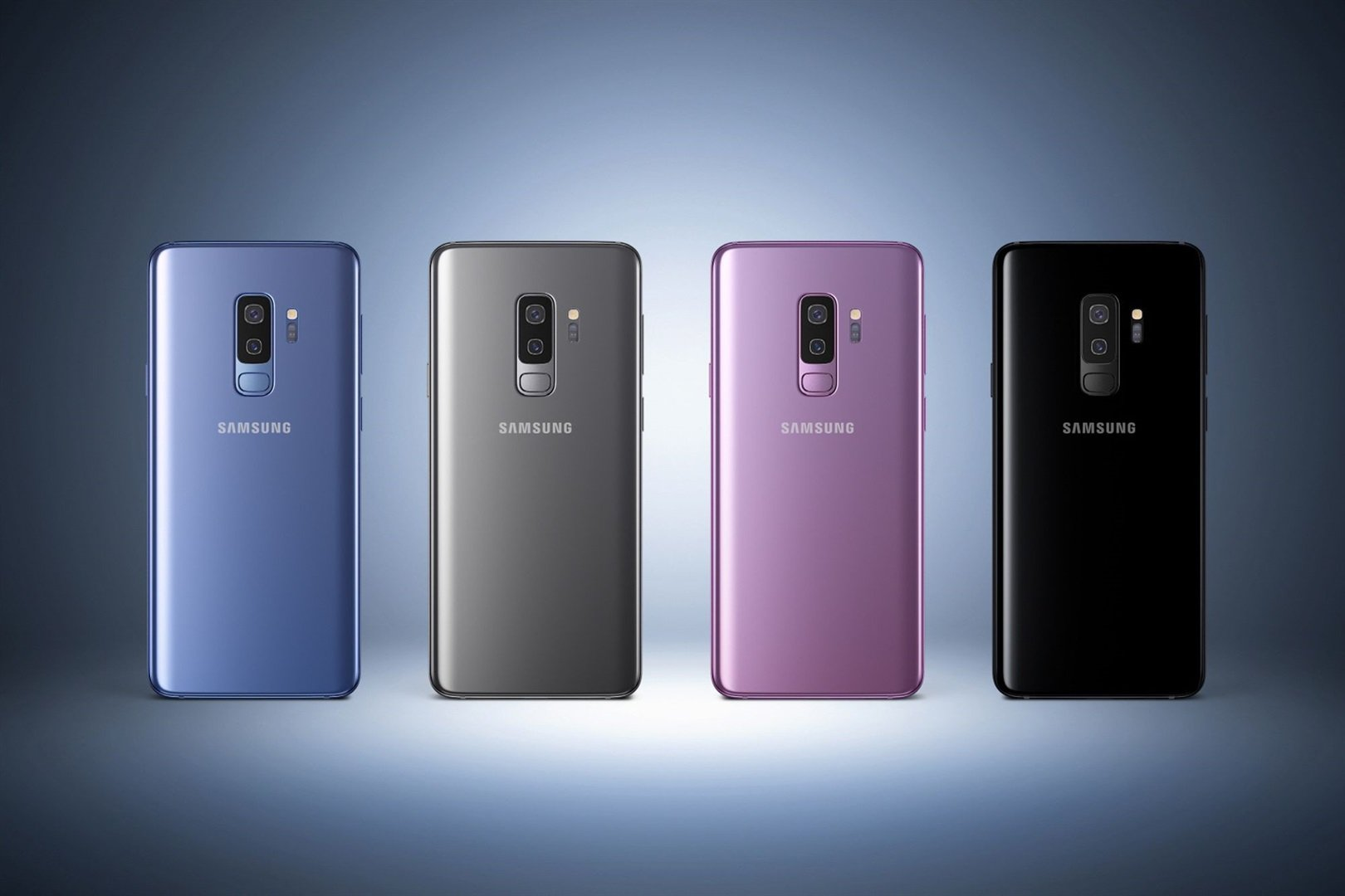 Los colores del Samsung Galaxy S9 y S9+.