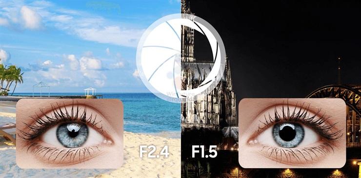 La apertura variable de la cámara del Galaxy S9 permite lograr mejores imágenes con poca luz (apertura f/1.5) o mucha luz (f/2.4).