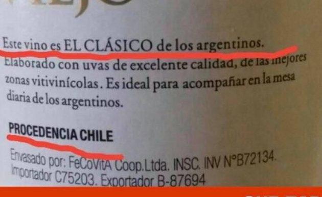 vino etiqueta polemica