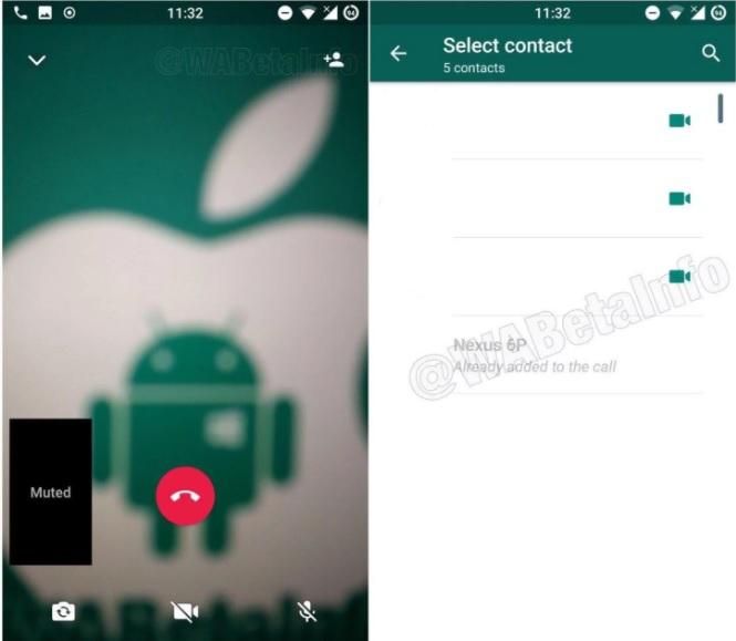 WhatsApp llamadas grupales