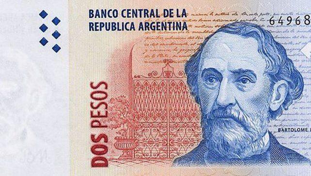 billete-dos pesos