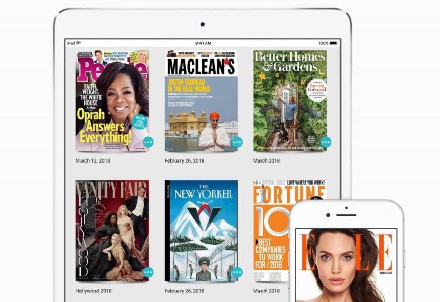 Texture, la app de revistas y medios online.