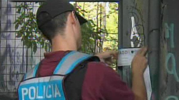 La policía clausura el descampado donde abusaron de la víctima