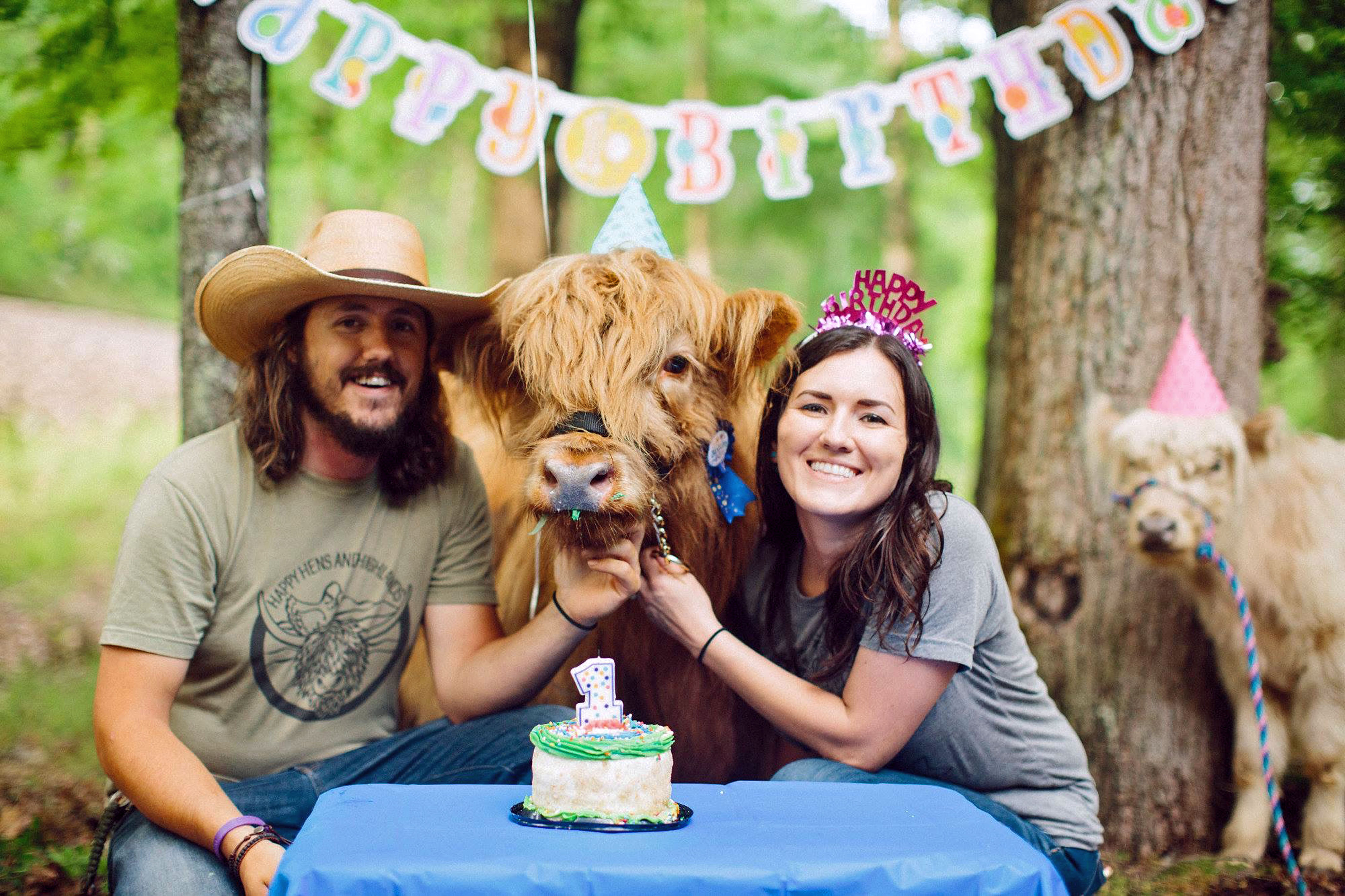 CUTE COW BIRTHDAY PARTY