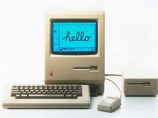La Macintosh 128k, otro modelo innovador de Jobs en 1984