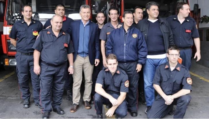 macri bomberos