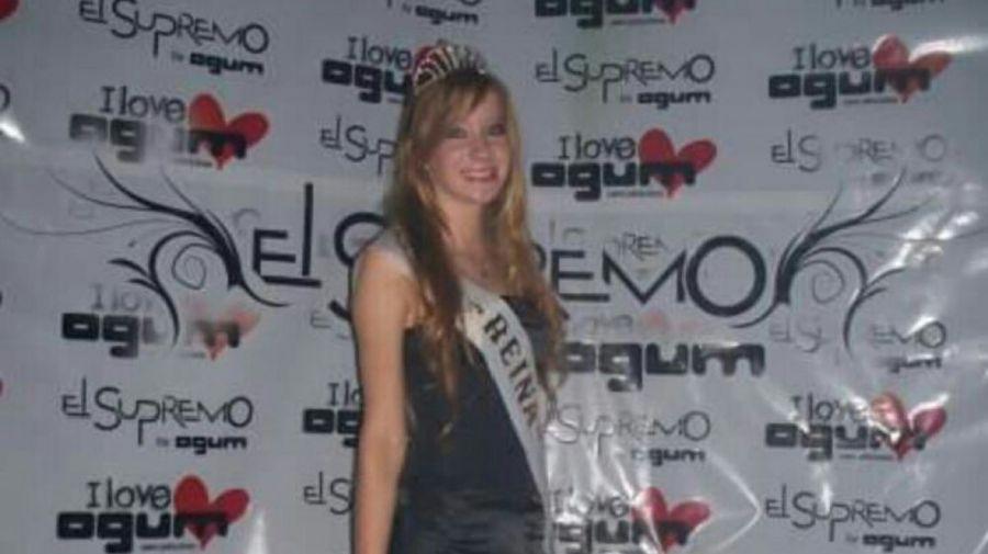 """En 2009, cuando Antonella ganó el concurso de belleza """"Reina de los estudiantes"""""""
