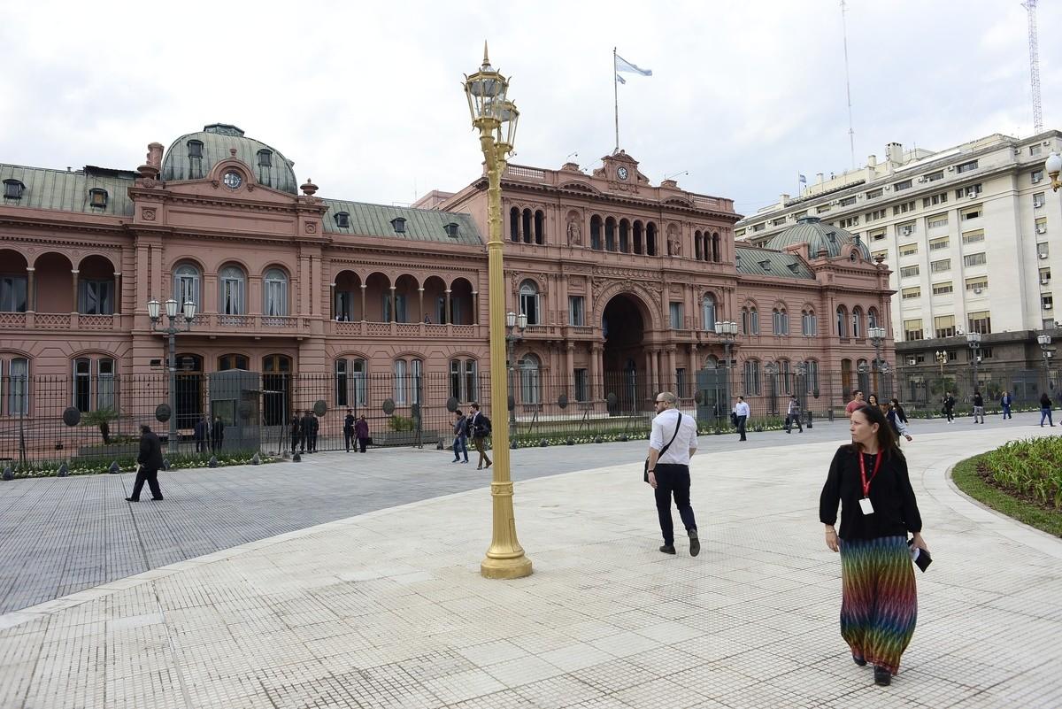 29-05-2018 Remodelaciones en la Plaza de Mayo Foto David Fernández