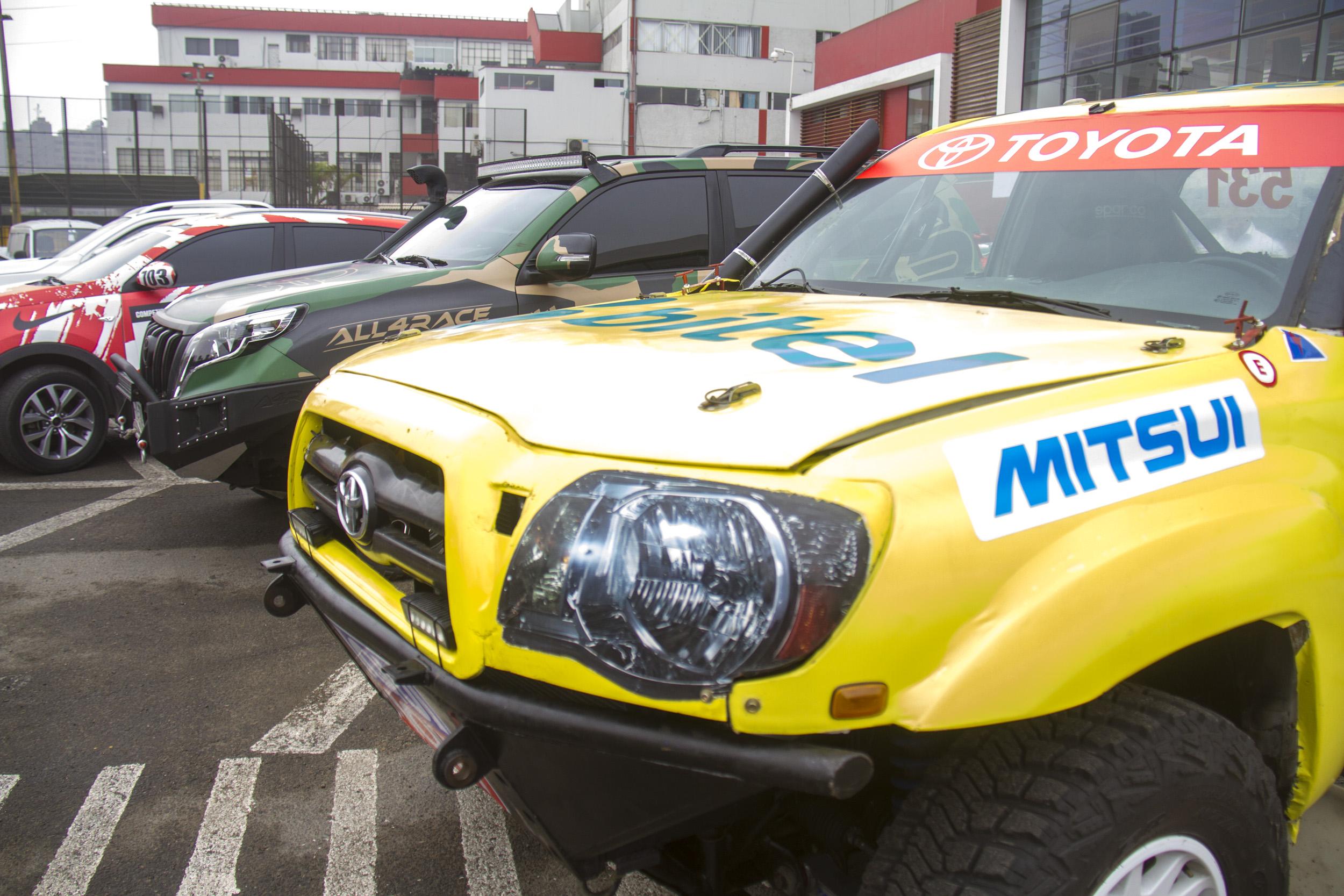 Presentación del Dakar 2019