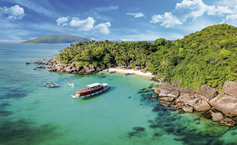 Nam Du island. A tranquil island with beautiful beach in Kien Giang, Vietnam.; Shutterstock ID 715427704