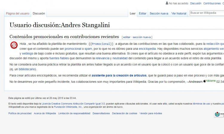 Andrés Stangalini tiene vínculos comerciales con el gremio de Santa María