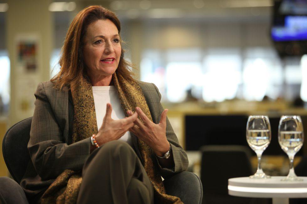 Marcela Campagnoli, diputada nacional de la Coalición Cívica-ARI.
