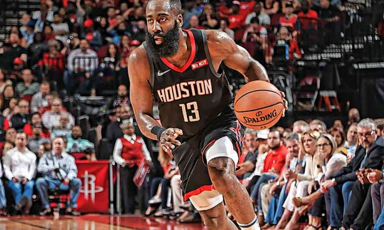 Harden lidera la remontada de los Rockets (111-105)