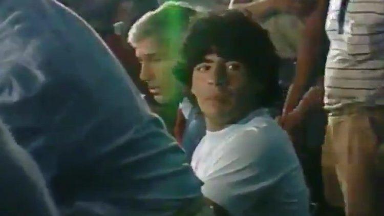Las primeras imágenes del nuevo documental de Diego Maradona — Emocionante