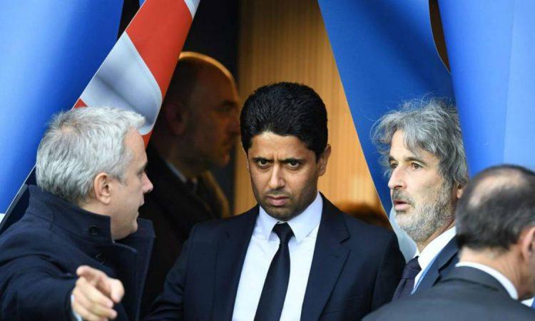 El presidente del PSG estaría en problemas