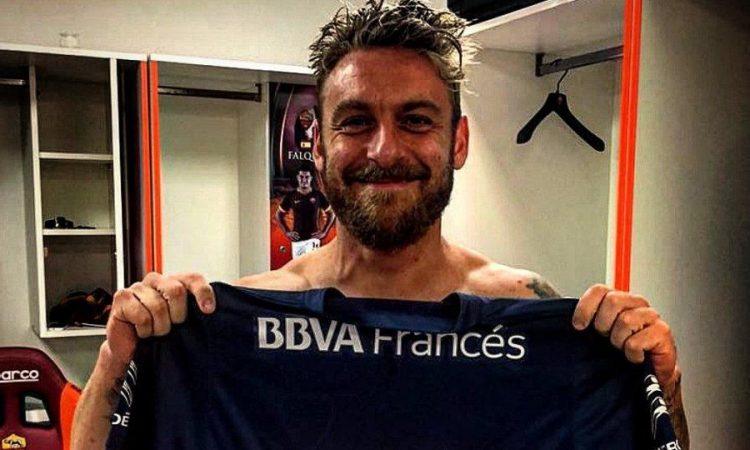 Daniele De Rossi fue presentado con Boca