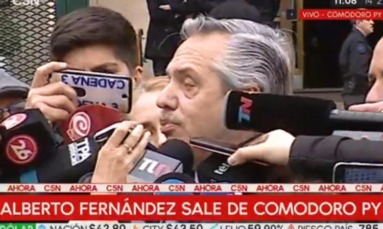 Durísimo cruce entre Alberto Fernández y Mercedes Ninci
