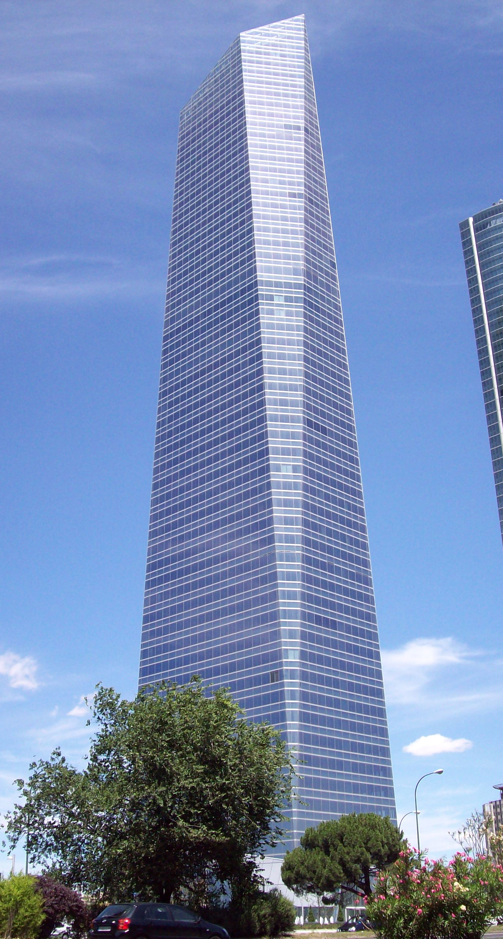 Torre de Cristal, Madrid