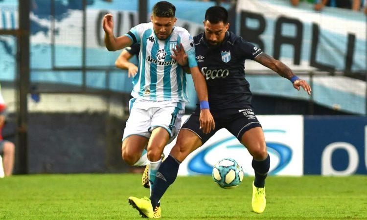 Racing igualó con Atlético Tucumán en el debut de Beccacece