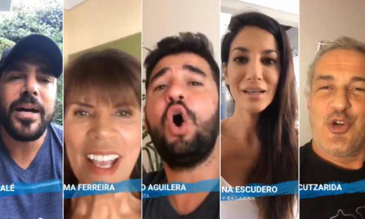 Los famosos se animaron a cantar a capela — El Imagine argentino