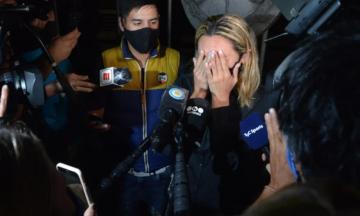 Revelaron el motivo por el que no dejaron entrar a Rocío Oliva al velorio de Maradona