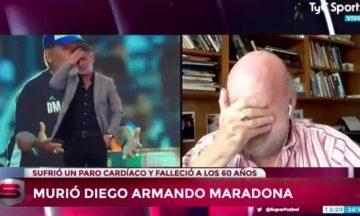 """El desconsolado llanto de Horacio Pagani en vivo: """"Murió el fútbol"""""""