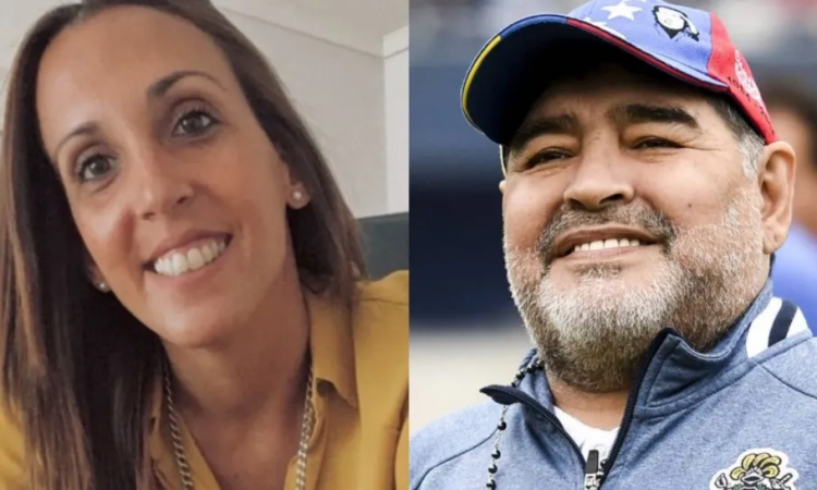 El homenaje de Messi a Maradona en Instagram: