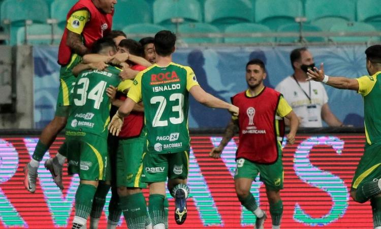 Defensa y Justicia clasificó a semifinales de la Copa Sudamericana