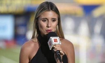 Íntimo: la foto de More Beltrán que volvió locos a los hinchas de Racing