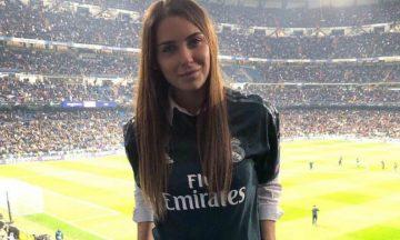 La foto de Mina Bonino que se hizo viral instantes después de la clasificación del Real Madrid