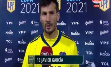 La llamativa respuesta de Javi García cuando le preguntaron por Andrada