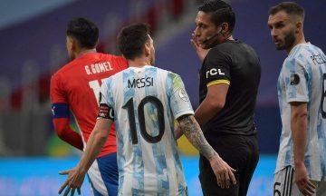 La Conmebol publicó los audios del VAR por el gol anulado a Messi en Argentina - Paraguay