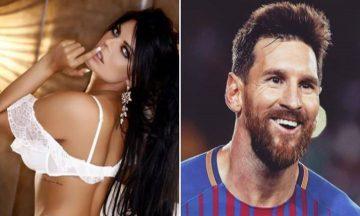 Infartante: el tatuaje íntimo de Messi que se hizo Miss Bum Bum