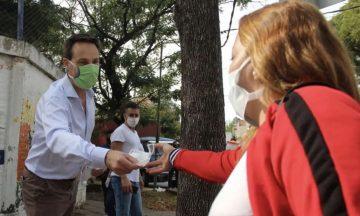 Con Viñuales como jefe de campaña, Juntos presentó su lista de candidatos en Lomas
